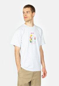 HUF - Born  - Print T-shirt - ash - 0
