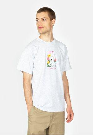 Born  - Print T-shirt - ash