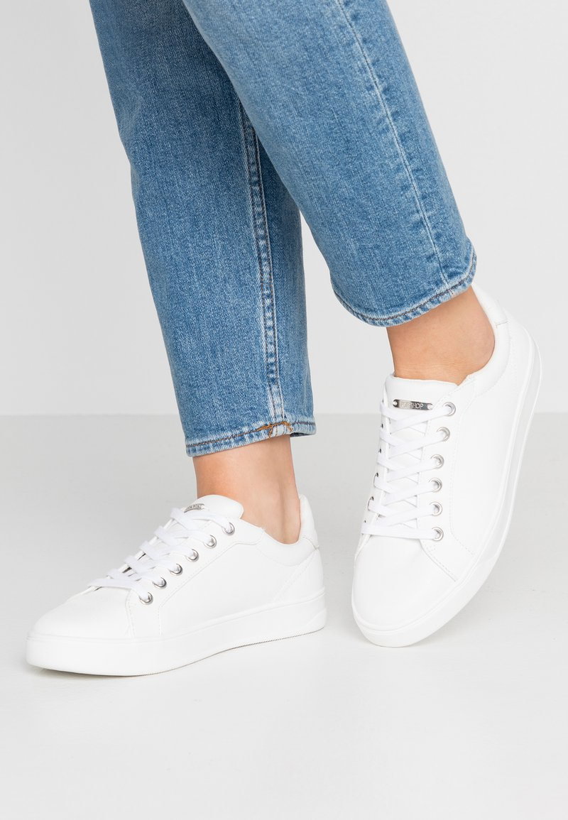 Topshop - COLA  - Sneakers - white