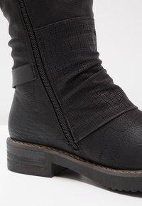 Coolway - DAVISON - Cowboy/Biker boots - black - 5