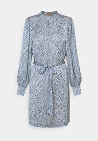 Scotch & Soda - DRAPEY PRINTED DRESS - Day dress - blue - 0