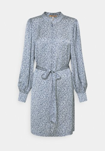 DRAPEY PRINTED DRESS - Day dress - blue