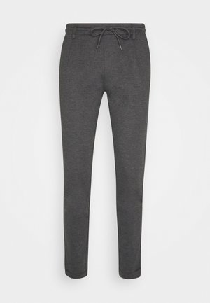 EBERLEIN WITH ROLL UP - Broek - charcoal