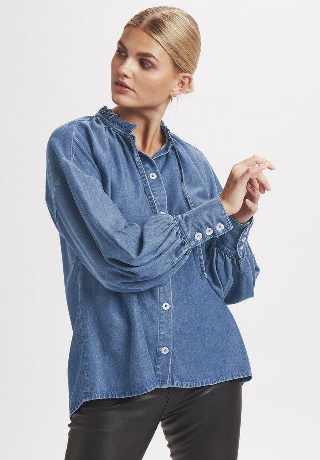 Skjortebluser - light denim blue