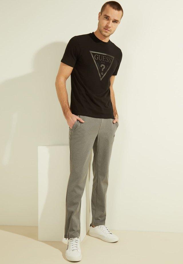 T-shirt z nadrukiem - schwarz