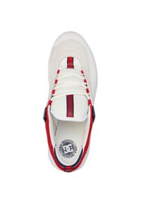 DC Shoes - Williams - Zapatillas skate - WHITE/NAVY/RED - 1