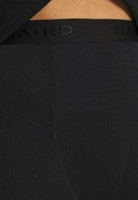 NA-KD - ZIA - Leggings - Trousers - black - 3