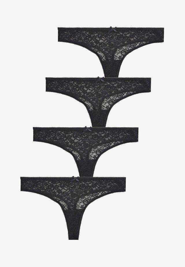 Thong - black
