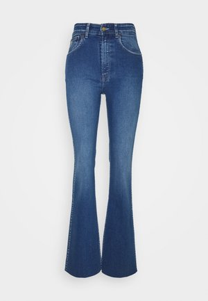 RILEY - Bootcut jeans - stone