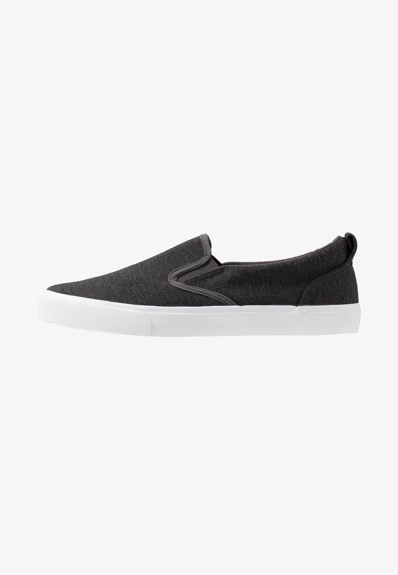 Pier One - UNISEX - Loaferit/pistokkaat - dark gray