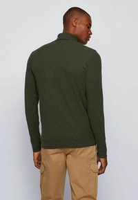 BOSS - TROLLFLASH - Long sleeved top - open green - 2