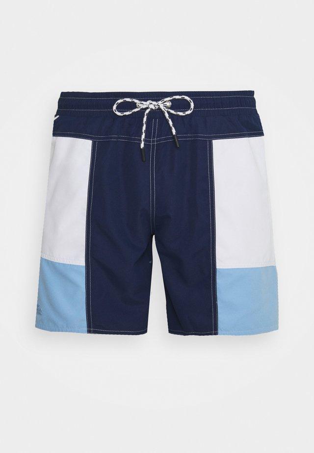 Swimming shorts - nattier blue/white