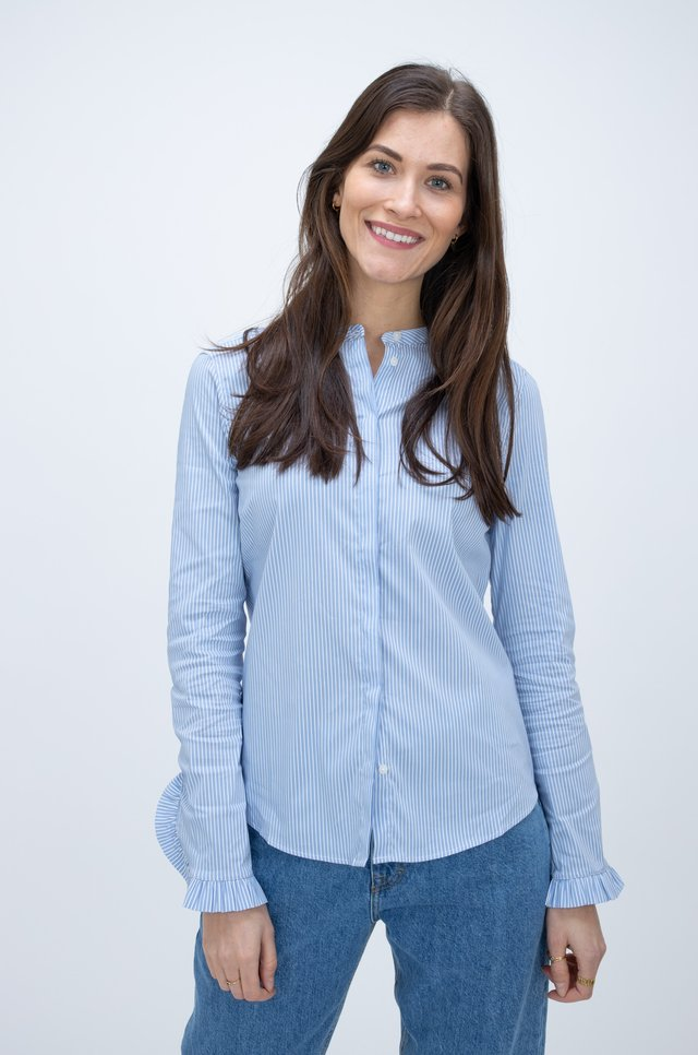 Blouse - bel air blue