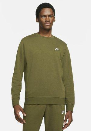 CLUB - Sweatshirt - rough green white