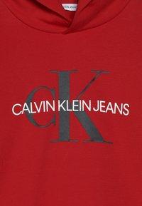 Calvin Klein Jeans - MONOGRAM HOODIE - Hoodie - red - 3