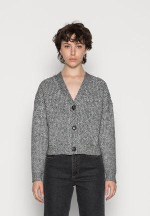Vest - mottled dark grey
