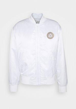 REGALIA BAROQUE - Bomber bunda - bianco/gold