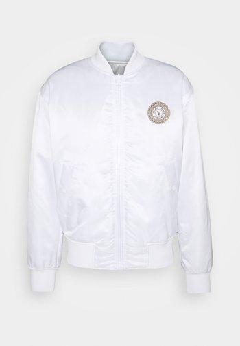 REGALIA BAROQUE - Bomber Jacket - bianco/gold