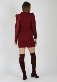 MiaZAYA - Shift dress - bordeaux - 1