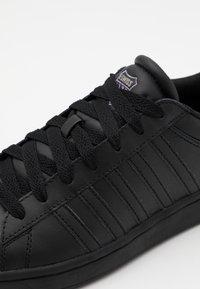 K-SWISS - COURT WINSTON - Sneakers laag - black - 5