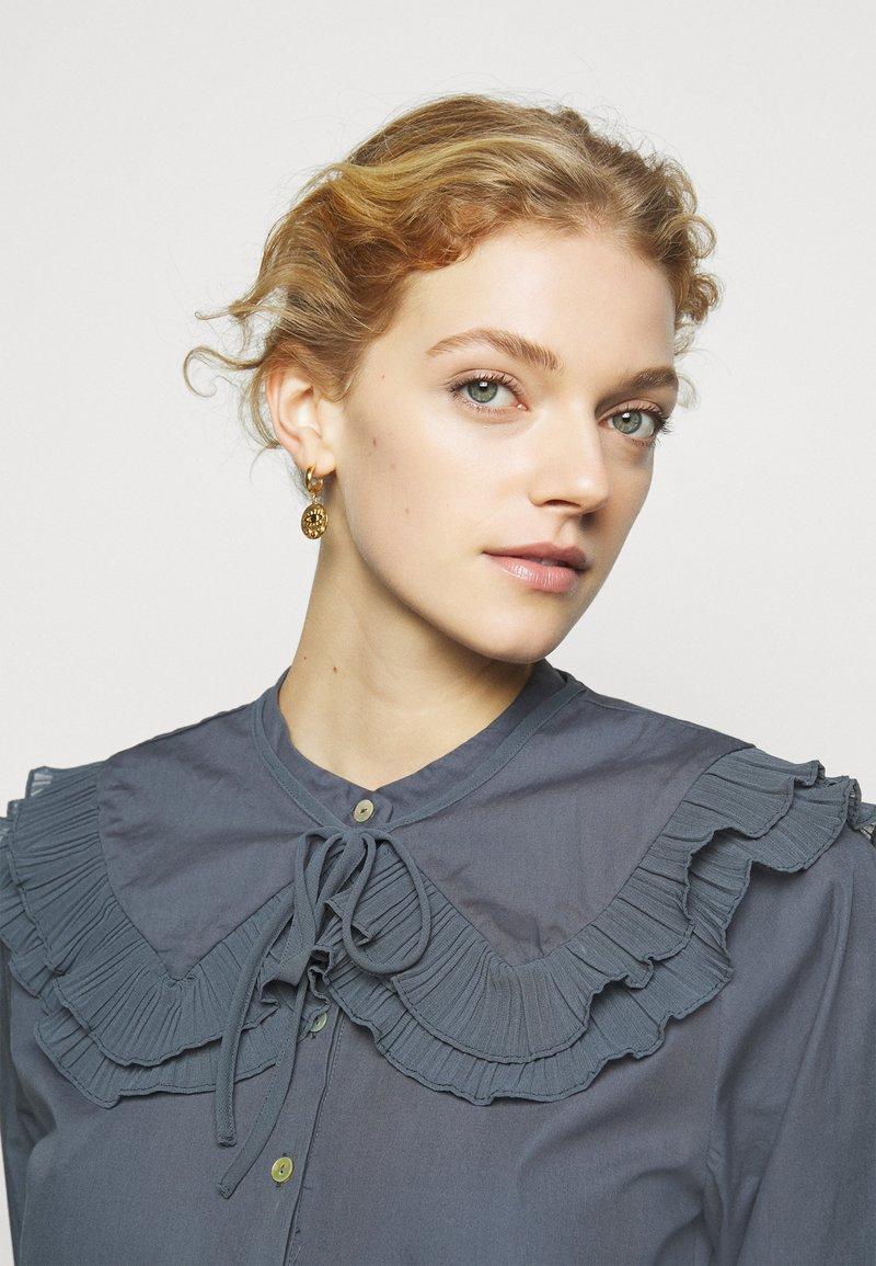 Hermina Athens - KRESSIDA MINI HUGGIES - Earrings - gold-coloured/multi