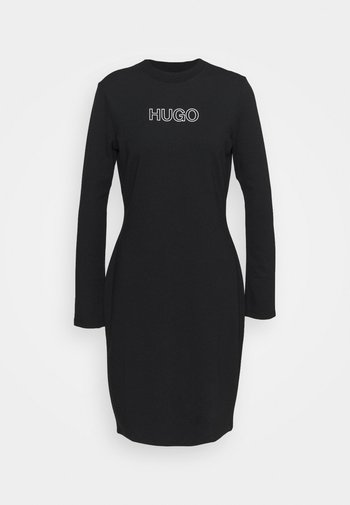 DASSY - Jerseykjole - black