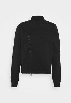 HELLA ZIP  - Sweater - black