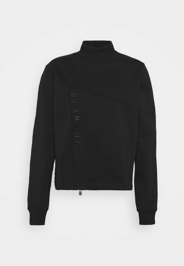 HELLA ZIP  - Sweatshirt - black