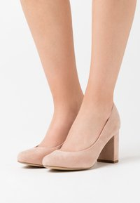 New Look Wide Fit - WIDE FIT REEMA BLOCK - High heels - oatmeal - 0