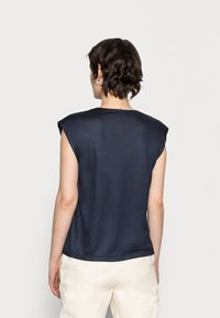 Opus - SUWANI - Basic T-shirt - mystic blue - 2