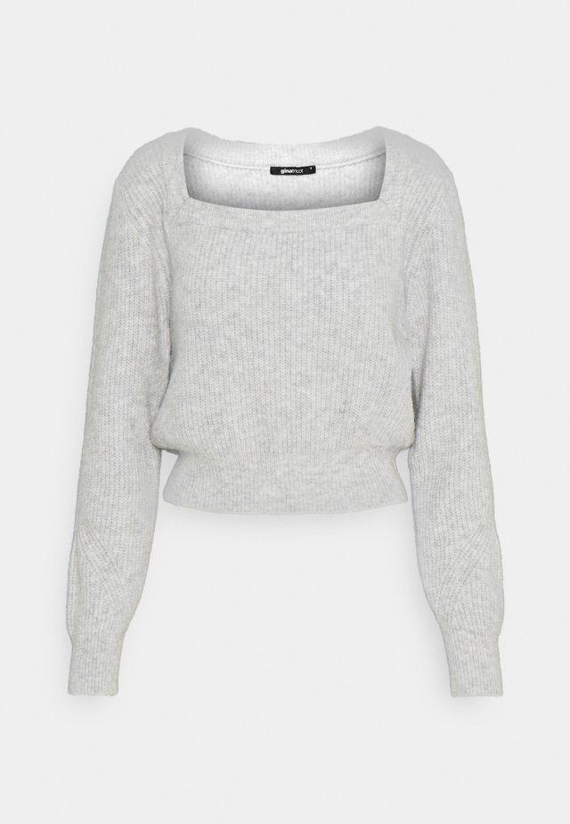 KIM - Pullover - grey melange