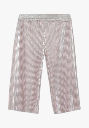 SHINY PLEATED TROUSERS - Pantalon classique - pink pale