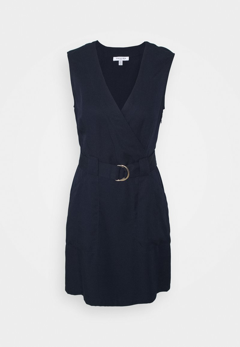 Forever New - KATY SLEEVLESS D RING DRESS - Shift dress - navy sails