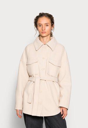 ALEXIA JACKET - Short coat - oyster grey