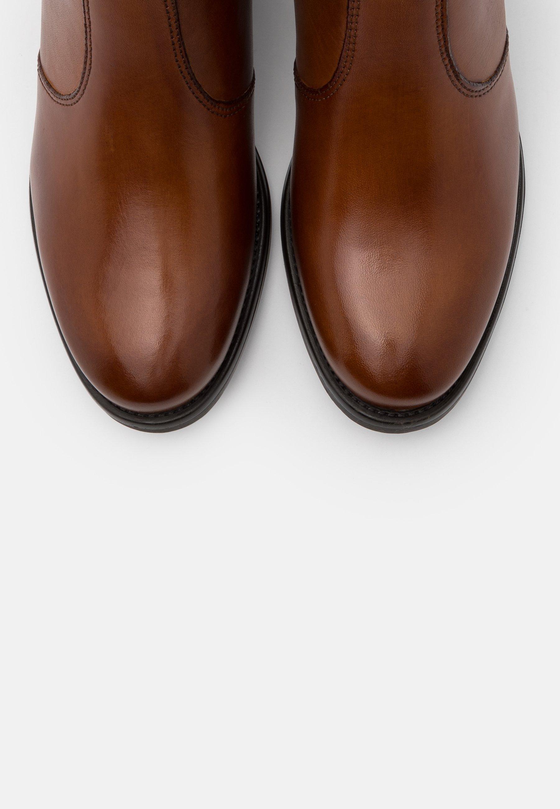Anna Field Leather - Ankelboots Cognac/konjakk