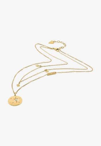 WANDERLUST - Necklace - goldenfarbe