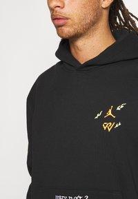 Jordan - WHY NOT HOODIE - Sweatshirt - black/white - 5