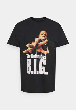 BIGGIE PUPPETEER - Print T-shirt - black