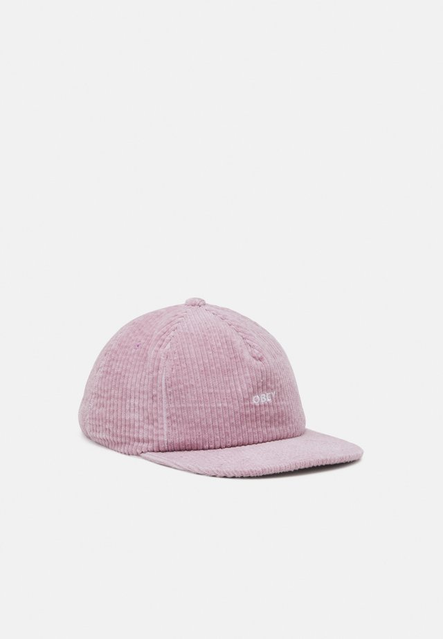 BOLD STRAPBACK UNISEX - Pet - dusty rose