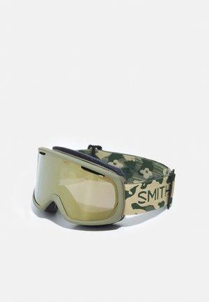 RIOT UNISEX - Ski goggles - olive