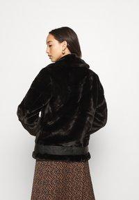 ONLY - ONLMARY BIKER - Winter jacket - black - 2