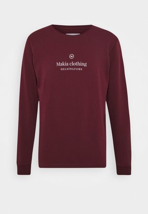HORIZON LIGHT - Sweatshirt - dark red