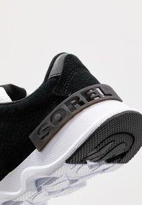Sorel - KINETIC LITE LACE - Sneakers laag - black - 2