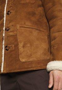 Schott - ARKANSOS - Leather jacket - rust - 5