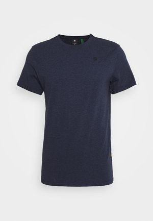 BASE-S R T S\S - Basic T-shirt - sartho blue htr