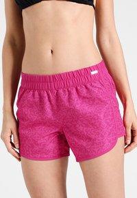 Venice Beach - TIME - Bikini bottoms - berry - 0