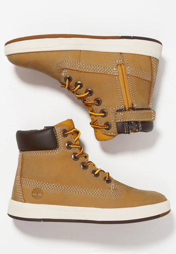 DAVIS SQUARE 6 INCH - High-top trainers - wheat