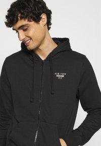 Schott - Zip-up hoodie - black - 3