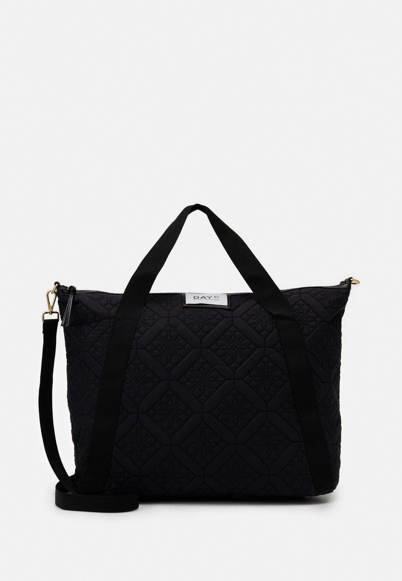 DAY ET - GWENETH FLOTILE CROSS - Tote bag - black