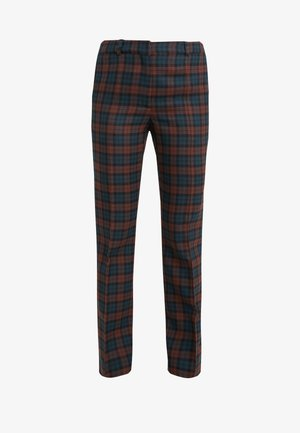 ASHLEY - Trousers - dark red